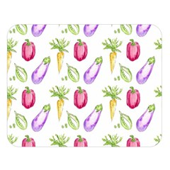 Vegetable Pattern Carrot Double Sided Flano Blanket (large)  by Mariart