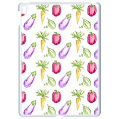 Vegetable Pattern Carrot Apple Ipad Pro 9 7   White Seamless Case by Mariart