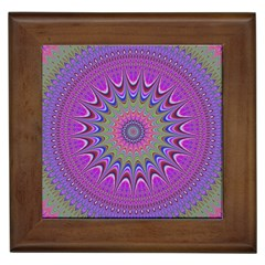 Art Mandala Design Ornament Flower Framed Tiles by BangZart