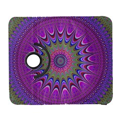 Art Mandala Design Ornament Flower Galaxy S3 (flip/folio) by BangZart