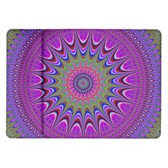Art Mandala Design Ornament Flower Samsung Galaxy Tab 10 1  P7500 Flip Case by BangZart