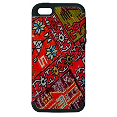 Carpet Orient Pattern Apple Iphone 5 Hardshell Case (pc+silicone) by BangZart