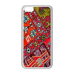 Carpet Orient Pattern Apple Iphone 5c Seamless Case (white) by BangZart