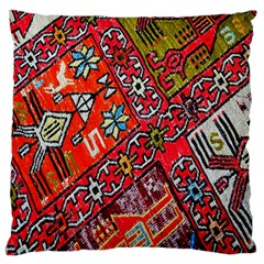 Carpet Orient Pattern Standard Flano Cushion Case (two Sides) by BangZart