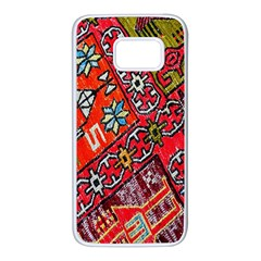 Carpet Orient Pattern Samsung Galaxy S7 White Seamless Case