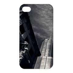 Chicago Skyline Tall Buildings Apple Iphone 4/4s Premium Hardshell Case by BangZart