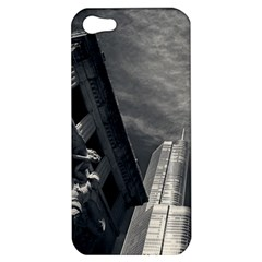 Chicago Skyline Tall Buildings Apple Iphone 5 Hardshell Case by BangZart