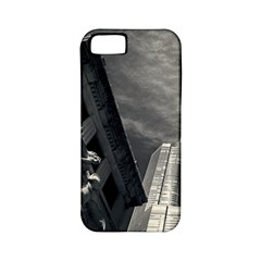 Chicago Skyline Tall Buildings Apple Iphone 5 Classic Hardshell Case (pc+silicone) by BangZart