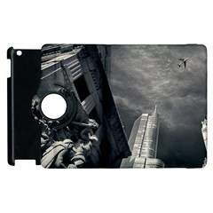 Chicago Skyline Tall Buildings Apple Ipad 3/4 Flip 360 Case by BangZart