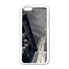 Chicago Skyline Tall Buildings Apple Iphone 6/6s White Enamel Case by BangZart