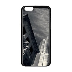 Chicago Skyline Tall Buildings Apple Iphone 6/6s Black Enamel Case by BangZart