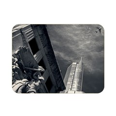 Chicago Skyline Tall Buildings Double Sided Flano Blanket (mini)  by BangZart