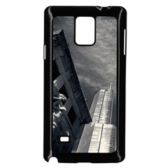 Chicago Skyline Tall Buildings Samsung Galaxy Note 4 Case (black)