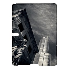 Chicago Skyline Tall Buildings Samsung Galaxy Tab S (10 5 ) Hardshell Case  by BangZart