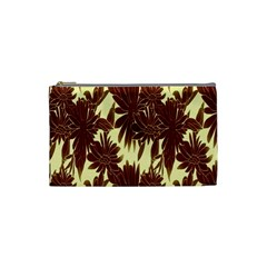 Floral Pattern Background Cosmetic Bag (small)  by BangZart