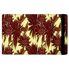 Floral Pattern Background Apple Ipad 2 Flip Case by BangZart