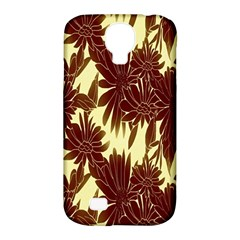 Floral Pattern Background Samsung Galaxy S4 Classic Hardshell Case (pc+silicone) by BangZart