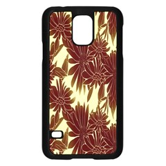 Floral Pattern Background Samsung Galaxy S5 Case (black) by BangZart