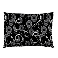 Floral Pattern Background Pillow Case by BangZart
