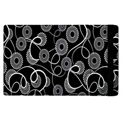 Floral Pattern Background Apple Ipad 3/4 Flip Case by BangZart