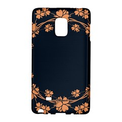 Floral Vintage Royal Frame Pattern Galaxy Note Edge