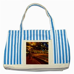 Florida State University Striped Blue Tote Bag