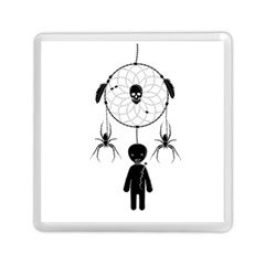 Voodoo Dream Catcher  Memory Card Reader (square)  by Valentinaart
