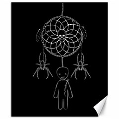 Voodoo Dream Catcher  Canvas 8  X 10  by Valentinaart