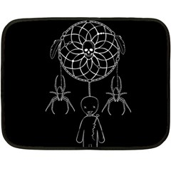 Voodoo Dream Catcher  Double Sided Fleece Blanket (mini)  by Valentinaart