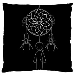 Voodoo Dream Catcher  Large Cushion Case (two Sides)