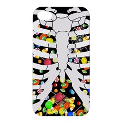 Trick Or Treat  Apple Iphone 4/4s Hardshell Case by Valentinaart