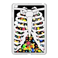 Trick Or Treat  Apple Ipad Mini Case (white) by Valentinaart
