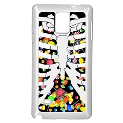 Trick Or Treat  Samsung Galaxy Note 4 Case (white)
