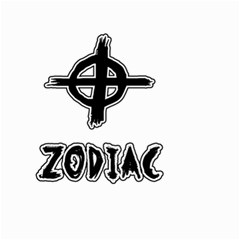 Zodiac Killer  Small Garden Flag (two Sides) by Valentinaart