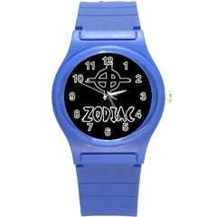 Zodiac Killer  Round Plastic Sport Watch (s)