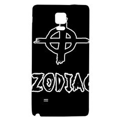 Zodiac Killer  Galaxy Note 4 Back Case