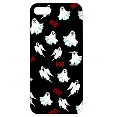 Ghost Pattern Apple Iphone 5 Hardshell Case With Stand by Valentinaart