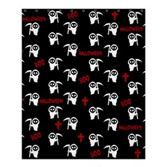 Death Pattern   Halloween Shower Curtain 60  X 72  (medium)  by Valentinaart