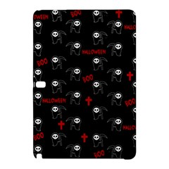 Death Pattern   Halloween Samsung Galaxy Tab Pro 10 1 Hardshell Case by Valentinaart