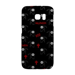 Death Pattern   Halloween Galaxy S6 Edge by Valentinaart