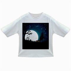 Halloween Landscape Infant/toddler T Shirts