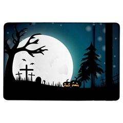 Halloween Landscape Ipad Air Flip by Valentinaart
