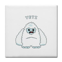 Yeti Tile Coasters by Valentinaart