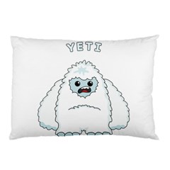 Yeti Pillow Case by Valentinaart