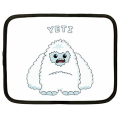 Yeti Netbook Case (xxl)  by Valentinaart