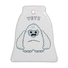 Yeti Bell Ornament (two Sides)