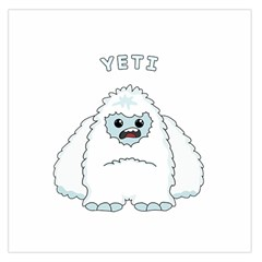 Yeti Large Satin Scarf (square) by Valentinaart