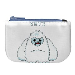 Yeti Large Coin Purse by Valentinaart