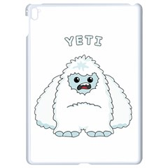 Yeti Apple Ipad Pro 9 7   White Seamless Case by Valentinaart