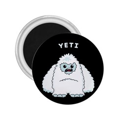 Yeti 2 25  Magnets by Valentinaart